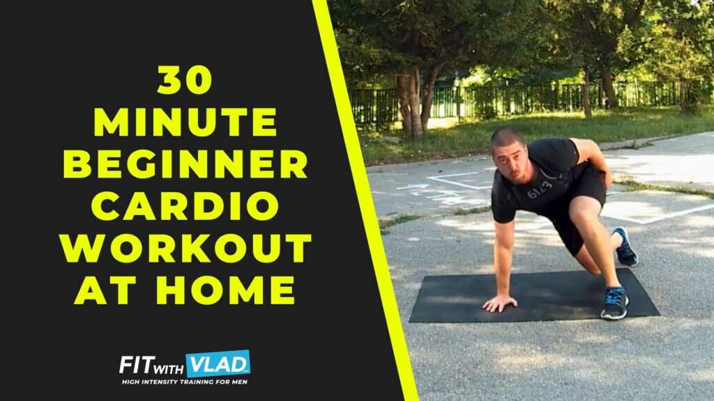 30 Minute Cardio Workout For Beginners at Home (Low Impact)
