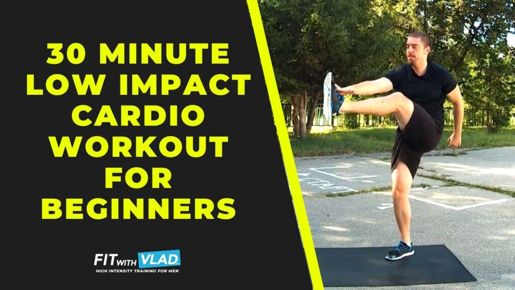 30 Minute Low Impact Cardio Workout For Beginners at Home (No Weights)