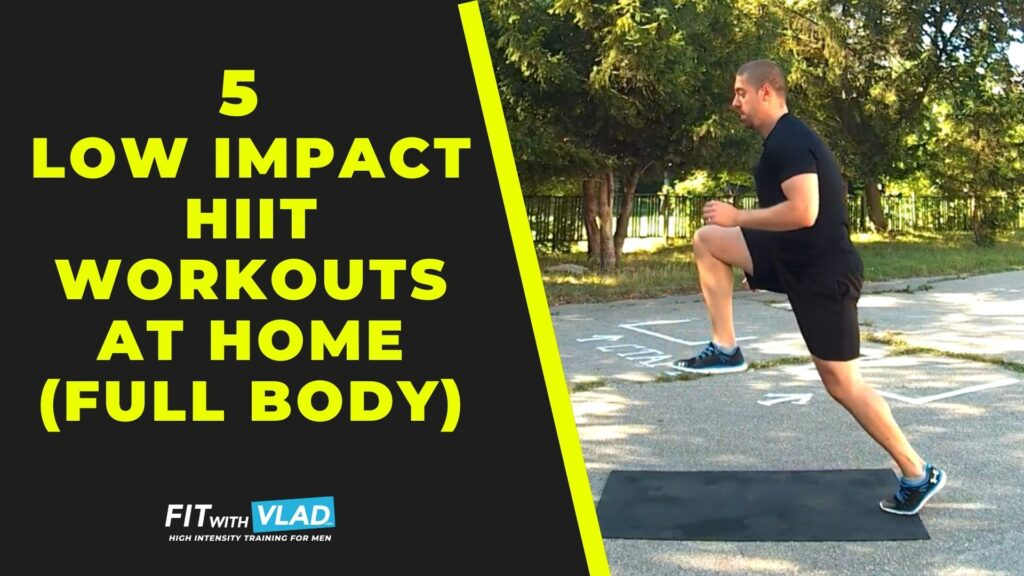 5 Low Impact HIIT Workouts at Home For Beginners (Full Body)