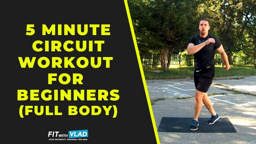 5 Minute Circuit Workout For Beginners (Full Body Cardio)