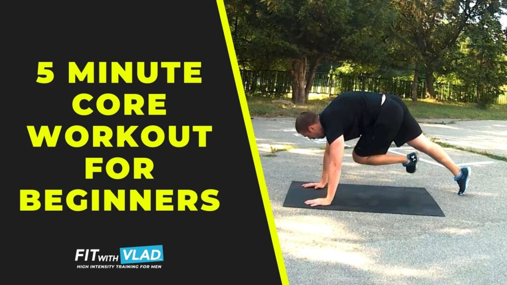 5 Minute Core Workout For Beginners at Home (Build The Abs)