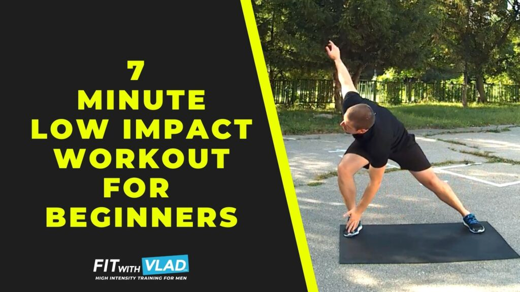 7 Minute Low Impact Workout For Beginners (No Jumping)