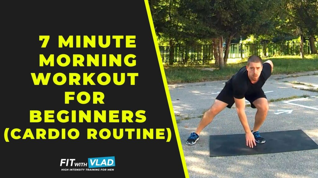 7 Minute Morning Workout For Beginners (Fast Cardio Routine)