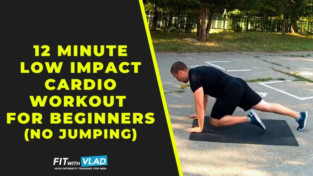 12 Minute Low Impact Cardio Workout For Beginners (No Jump!)
